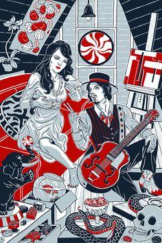A Circus Mind by Julia Minamata, via Behance