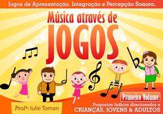 Música Através de Jogos (crianças a partir de 3 anos, jovens e adultos). Solicite demonstração gratuita. www.oficinasartsom.com oficinasartsom@gmail.com tel/whatsapp (21) 99656-7444