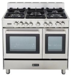 Stainless Steel Gas Ranges Stainless steel is the choice for most homeowners these days, and the stainless steel ranges are top-quality appliances that will offer you many great features. Prepare meals and baked goods like a pro in these top-of-the-