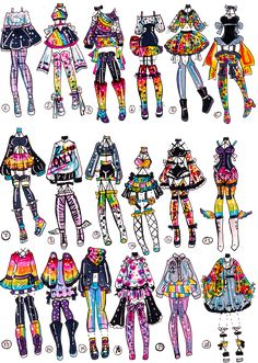 CLOSED-Lisa Frank inspects outfits by Guppie-Vibes on DeviantArt - CLOSED-Lisa Frank inspects outfits by Guppie-Vibes on DeviantArt, - Kawaii Drawings, Art Drawings Sketches, Cute Drawings, Manga Clothes, Drawing Anime Clothes, Lisa Frank, Fashion Design Drawings, Fashion Sketches, Character Art