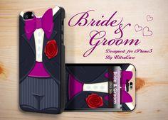 Prefect gifts for Bride and Groom Black - Apple Iphone5 Designer Case - Ultra Case