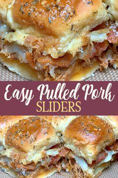 Easy Pulled Pork, Barbecue Pulled Pork, Pulled Pork Sliders, Pulled Pork Recipes, Leftover Pulled Pork, Pulled Pork Sides Dishes, Recipes With Pulled Pork Leftovers, Hawaiian Pulled Pork, Smoked Pulled Pork