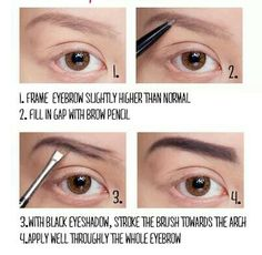 How to do perfect pinup brows