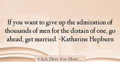 Katharine Hepburn Quotes About Men - 45631