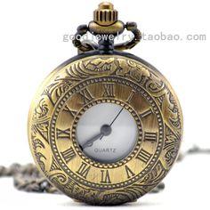 Dial : 38 mm de inglaterra Antique Bronze romano dupla retro relógios(China…