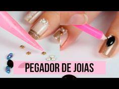 2 TRUQUES DE COMO FAZER PEGADOR DE JOIAS DE UNHAS - Ideia Rosa - YouTube