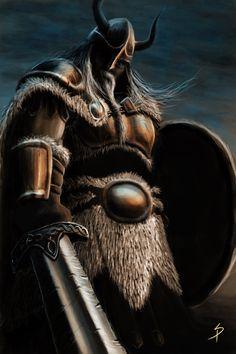 Community about Norse Mythology, Asatrú and Vikings. Viking Life, Viking Art, Viking Warrior, Viking Symbols, Fantasy Warrior, Fantasy Art, Thor, Digital Art Gallery, Asatru