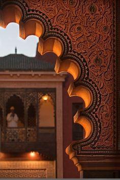 арабские страны Персидского залива:  Закат в Марокко