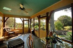 screened in porch | Screened Porch | On this breezy screened porch, you'll enjoy the ...