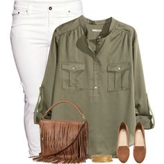H&M Outfit by cindycook10 on Polyvore featuring H&M, simpleoutfit and simpleset