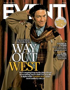 Dominic West, Sept 7th 2014 #Pride  #EventCover