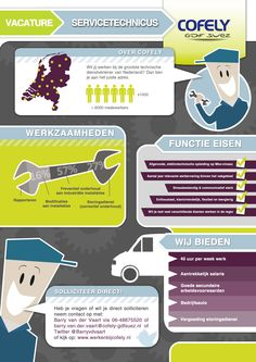 Vacature Service technicus @ Cofely Nederland [INFOGRAPHIC]