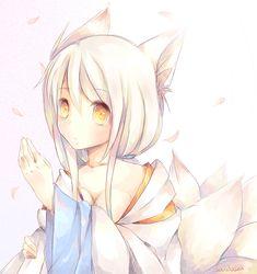 Kitsune by =Gardosen on deviantART