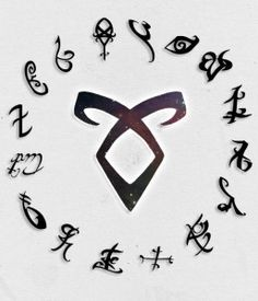 Imagem de runes, the mortal instruments, and shadowhunters Shadowhunter Tattoo, Shadowhunter Academy, Shadowhunters Tv Show, Shadowhunters The Mortal Instruments, Mortal Instruments Runes, Clary Y Jace, Cassandra Clare Books, Jace Wayland, The Dark Artifices