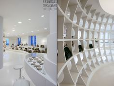 ALV Showroom by Fabio Novembre, Milan showroom store design