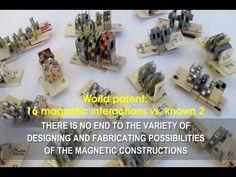 World patent: 16 magnetic interactions vs. known 2