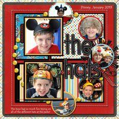 The Hats at Disney
