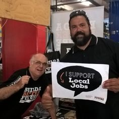 Local Jobs & CHAFTA are hot topics in Cairns today. #better future #proudtobeunion