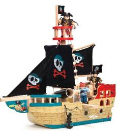 Jolly Pirate Ship #limetreekids
