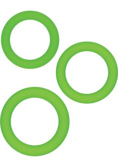 Buy Renegade Super Stretchy Diversity Rings Green 3 Each Per Set online cheap. SALE! $9.49