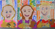 Cassie Stephens: In the Art Room: Kindergarten Self-Portraits as Artists