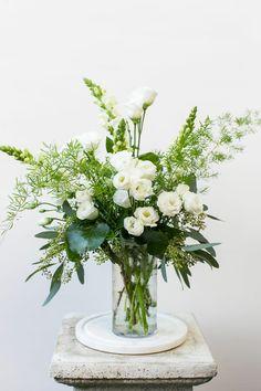 Arrangement Portfolio - The Gardener's Cottage, Asheville Flowers For You, Green Flowers, White Flowers, Flower Service, Flower Delivery Service, White Flower Arrangements, Flowers Delivered, Elegant Flowers, Flower Aesthetic