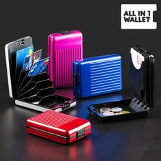 All in 1 Aluminium Wallet Aluminum Wallet, Beauty Care, Gifts For Women, Shampoo, Fashion Accessories, Face Facial, Facial Care, Credit Cards, Fashion Beauty
