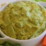 Clean Eating Avocado Cilantro Hummus Recipe