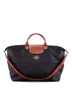 Monogrammed Weekender { for those who believe its only yours if there's a monogram }