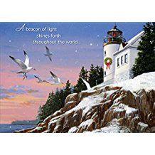 Nautical and Beach Christmas Cards - Beachfront Decor
