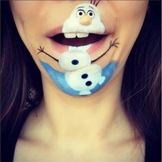 Des maquillages de bouche incroyables!                                                                                                                                                                                 Plus