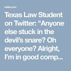 """Texas Law Student on Twitter: """"Anyone else stuck in the devil's snare? Oh everyone? Alright, I'm in good company.  #HogwartsMystery #HarryPotter #books #novels"""