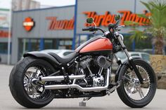 #Harley Davidson Softail Blackline by #Thunderbike