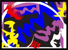 Abstract Matisse Cut-out