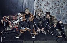 【Bigbang】【杂志】《W Korea》2014年11月号(B-Side)韩图区韩剧社区