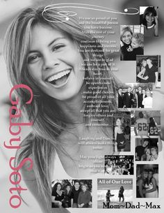 Custom Personalized Photo Senior Yearbook by Stonelovedesigns, $75.00 senior picture layout idea