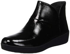 3eb025cb2c1b Chic FitFlop Women s Supermod Ii Crinkle-Patent Leather Ankle Boots online.    107.91