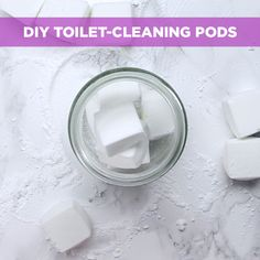 So Fresh, So Clean: You Need These DIY Toilet Bombs In Your Life baking soda, citric acid & dish soap Homemade Cleaning Products, Cleaning Recipes, Natural Cleaning Products, Cleaning Hacks, Cleaning Supplies, Cleaners Homemade, Diy Cleaners, Toilet Cleaning, Bathroom Cleaning