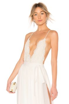 7a72240c0af Michael Costello x REVOLVE Athena Bodysuit. Michael Costello x REVOLVE  Athena Bodysuit in Ivory. - size M (also in S