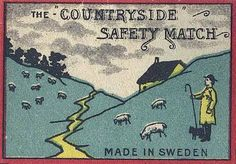 Safety Matches, Made in Sweden