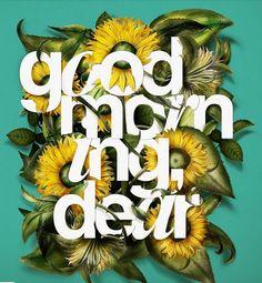 good morning dear!