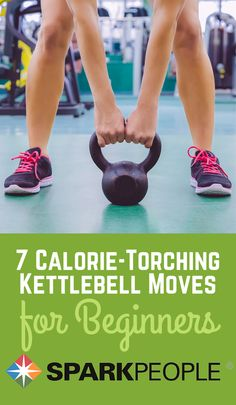 7 Calorie-Torching Kettlebell Moves Video via @SparkPeople