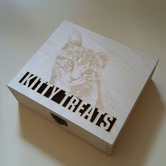 a photo engraved on a wooden box  #photo #engraving #wooden #boxes #craft #lasercut #personalised #gifts unique #ideas