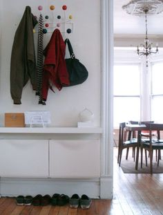 Entryway/Mudroom. A Few of Our Small Space Solutions