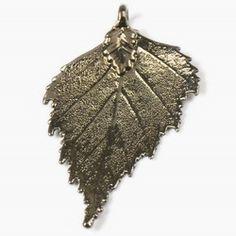Birch Leaf Pendant & Chain