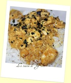 Poulet au curry (Thermomix) -