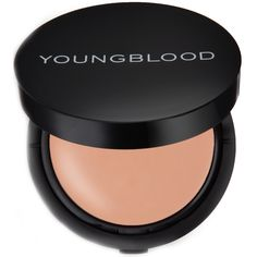 Same amazing functions like Youngblood Mineral Radiance Crème Powder Foundation but with a new style - it's refillable! Youngblood Cosmetics, Powder Foundation, Natural Cosmetics, Minerals, Blush, Beauty, Honey, Rouge, Beauty Illustration