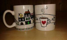 Tazas personalizadas. Taller 35. #taller35 #regalos #encargos #tazaspersonalizadas #mugs