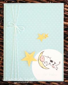 Amanda Sevall // 365 Cards: For Baby using Nursery Times stamp set from Stampin Up!
