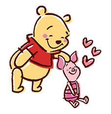 Winnie The Pooh Pop-Up Stickers by The Walt Disney Company (Japan) Ltd.